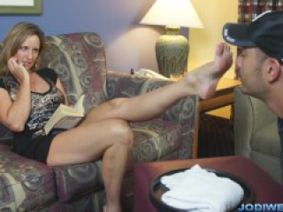 Jodi West - Foot Worship and Footjob