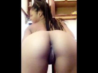 Real Amateur Tinder Ebony from College SQUIRT Compilation Part 2
