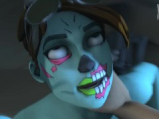 Fortnite - Ghoul Trooper Fucked In The Woods.