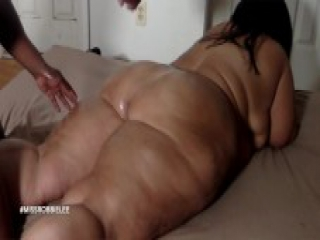 Miss Robbie Lee Oiled Thick Legs, Ass & Feet Talking Dirty as she Gets Dick