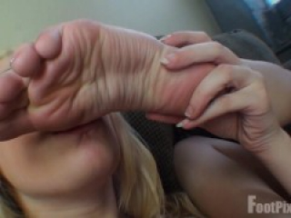 Amazing Lesbian Foot Love and Sex
