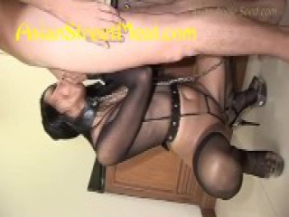 mixed indian in sexy lingerieShoe Polish Slave
